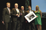 Renishaw receives the Gildemeister Supplier of the Year 2009 award